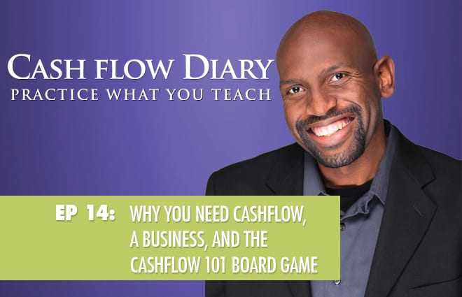 CFD 014 – Why you need cashflow, a business, and the Cashflow 101 Board Game