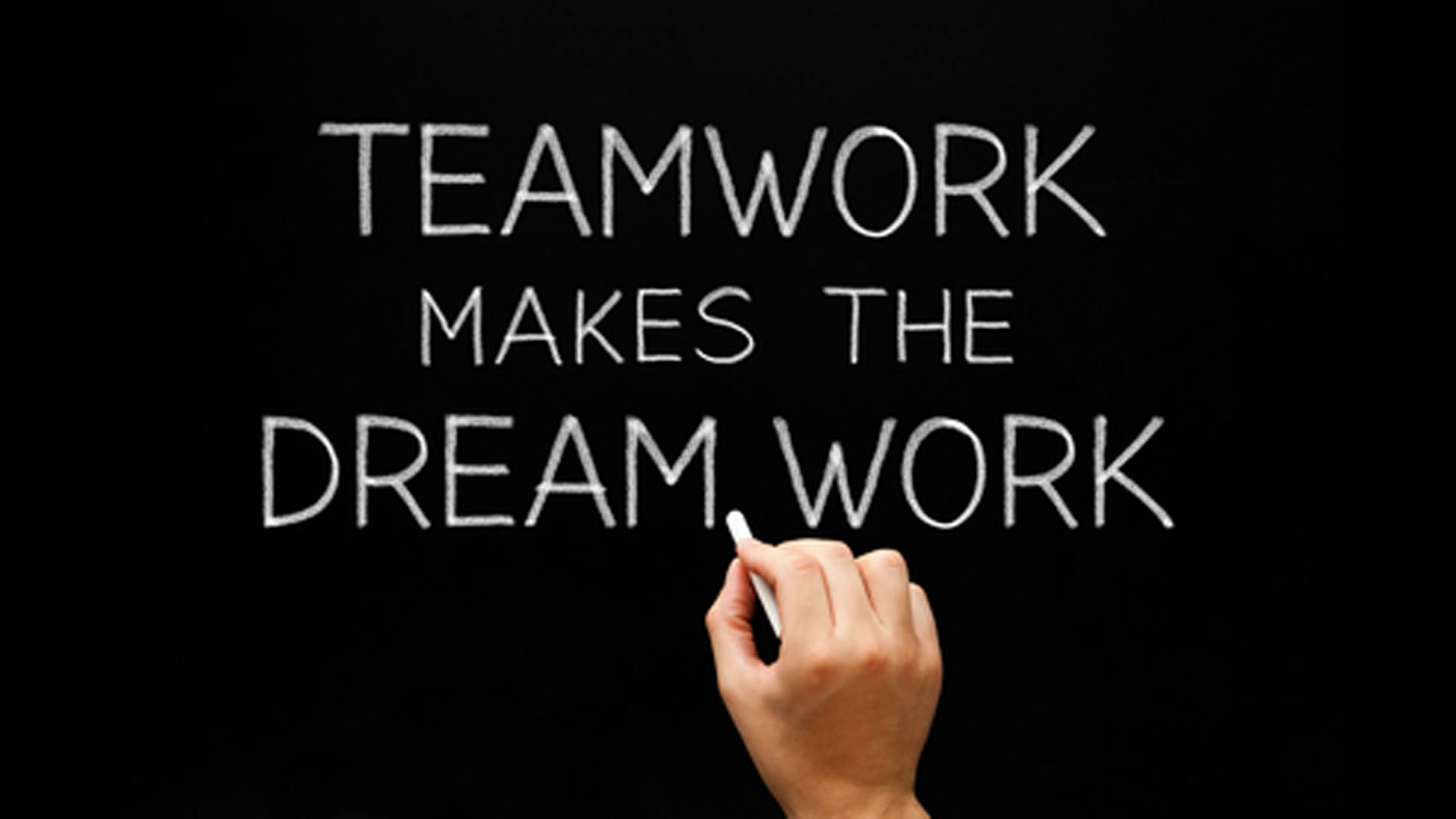 How Team Work Makes Your Dream Work