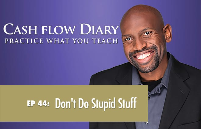 CFD 044 – Richard Moran, Don't Do Stupid Stuff