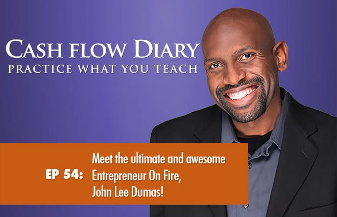 CFD 054 – Meet the ultimate and awesome Entrepreneur On Fire, John Lee Dumas!