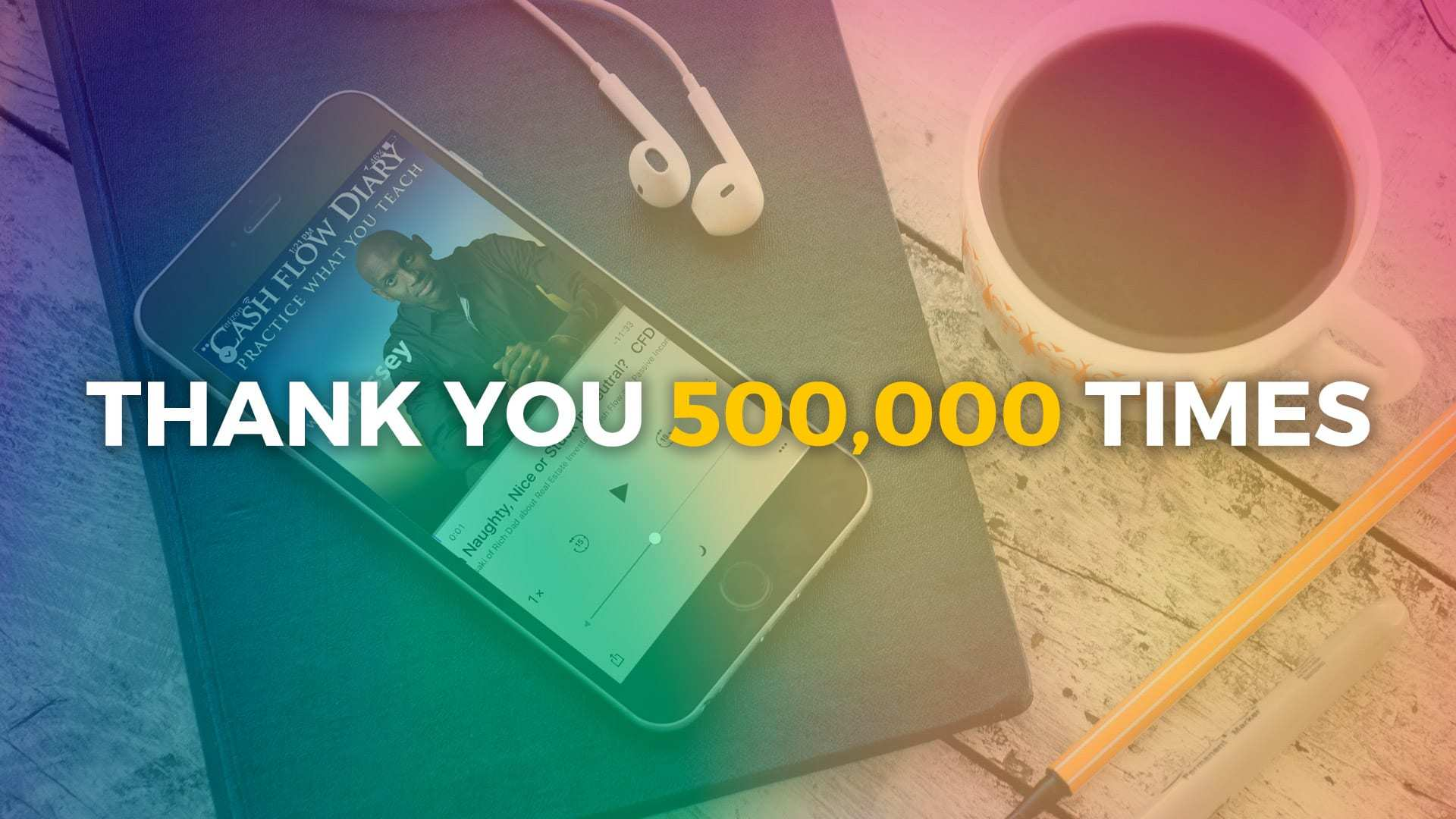 Thank You for Helping Us Hit a Half Million Downloads!
