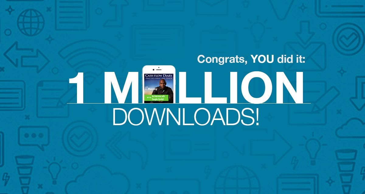 Thank You for Helping Us Hit ONE MILLION Downloads!