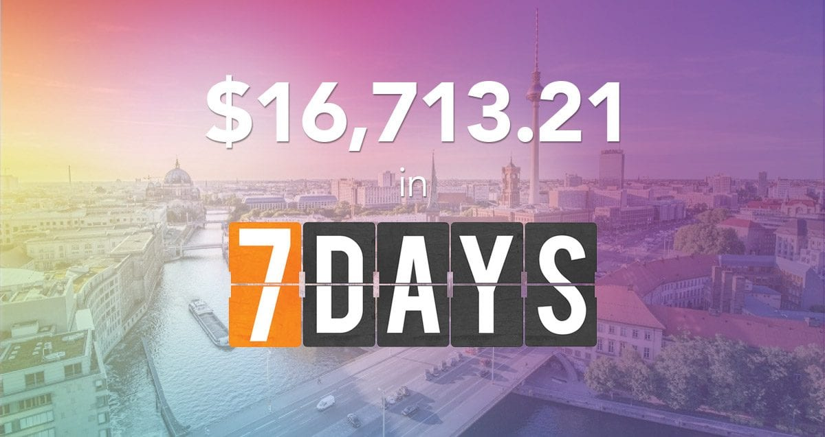 How to Earn $16,713.21 in 7 Days