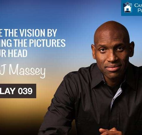 Create the vision by creating the pictures in your head