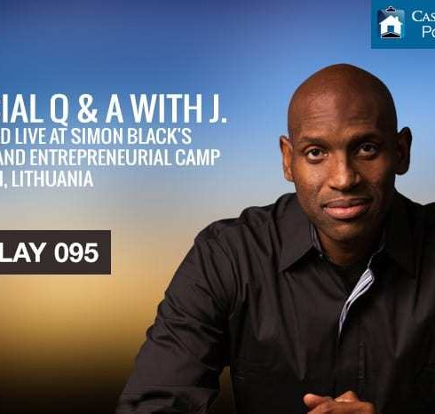 Special Q & A with J. recorded LIVE at Simon Black's Liberty and Entrepreneurial Camp in Trakai, Lithuania!