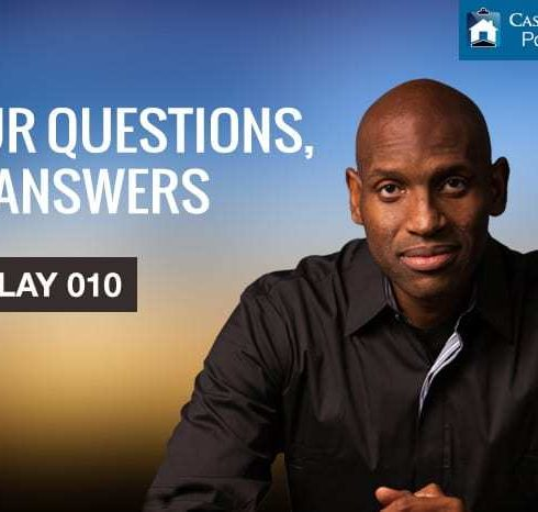 Your Questions, My Answers