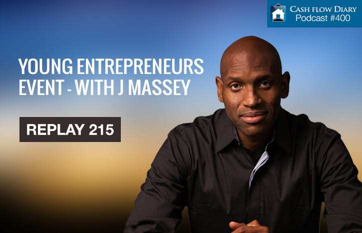 Young Entrepreneurs Event with J Massey