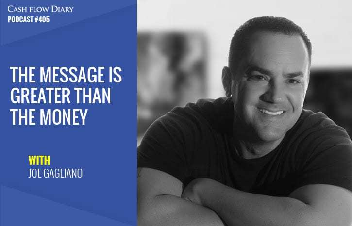 CFD 405 – The Message Is Greater Than The Money